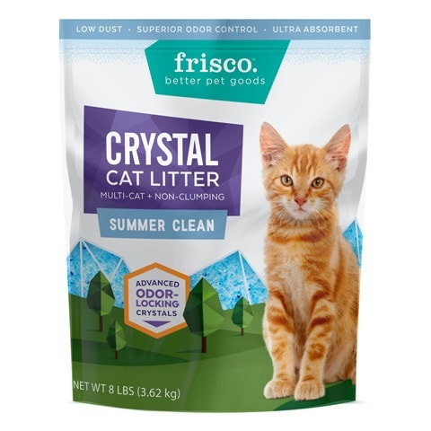 Frisco Summer Non-Clumping Crystal Cat Litter