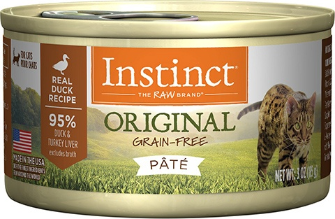 Instinct Original Grain-Free Pate Wet Canned Cat Food