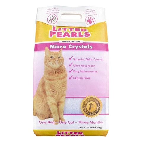 Litter Pearls Micro Crystal Cat Litter