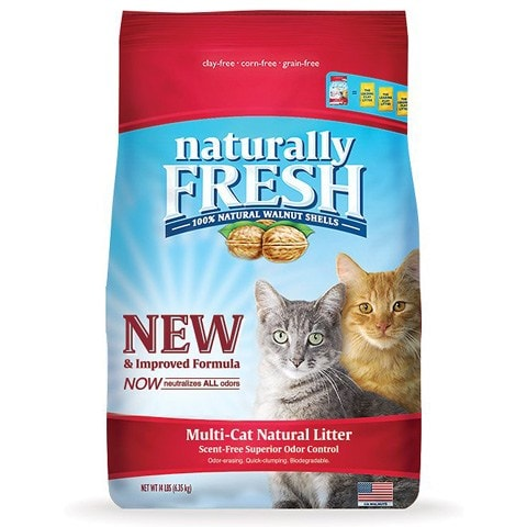 Naturally Fresh Clumping Walnut Cat Litter