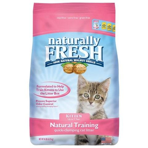 Naturally Fresh Kitten Training Walnut Cat Litter