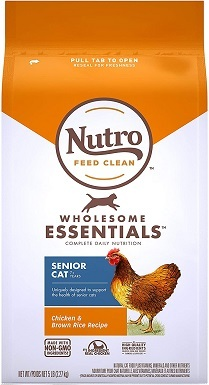 Nutro 10204058 Wholesome Essentials Dry Cat Food