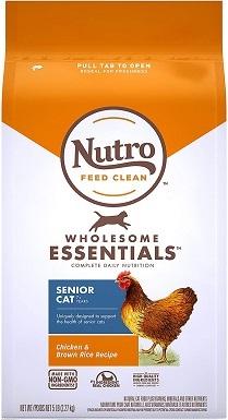 Nutro 10204058 Wholesome Essentials Dry Cat Food