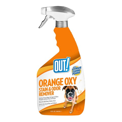 OUT! Orange Oxy Stain and Odor Remover