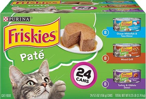 Purina Friskies Classic Pâté Canned Cat Food