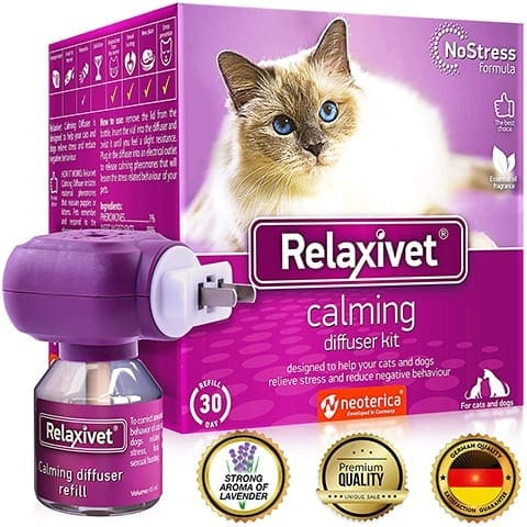 Relaxivet Natural Cat Calming Pheromone Diffuser