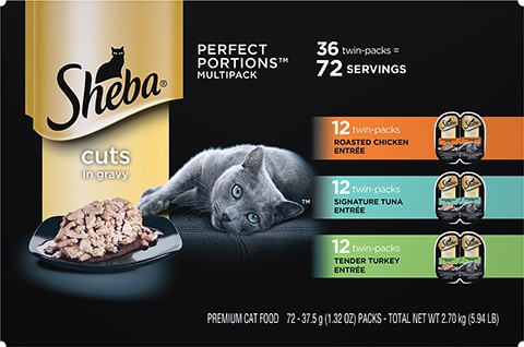 Sheba Perfect Portions Grain-Free Cat Food