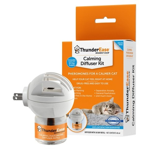 ThunderEase Cat Calming Diffuser Kit