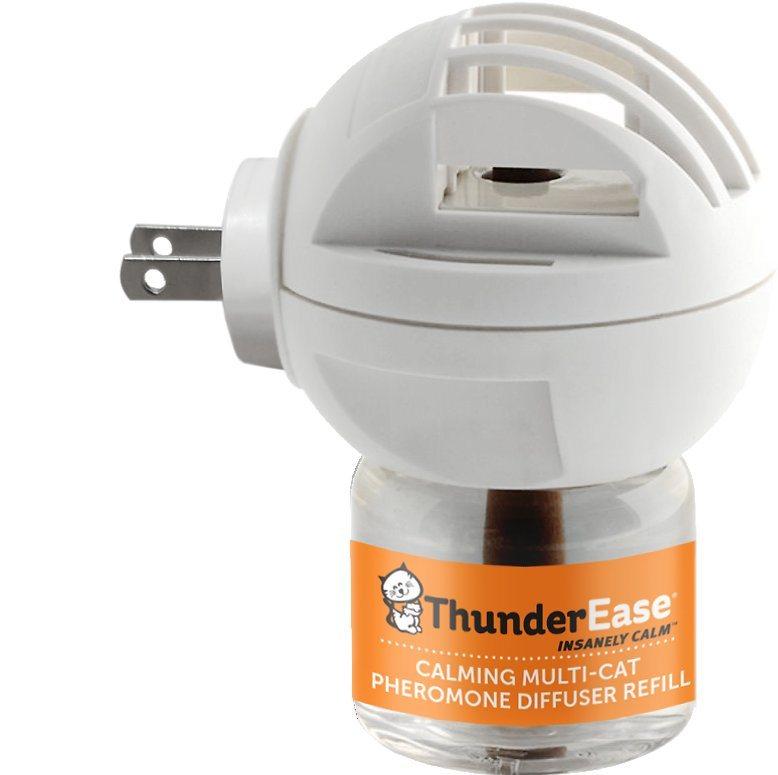ThunderEase Multi-Cat Calming Diffuser Kit-BG