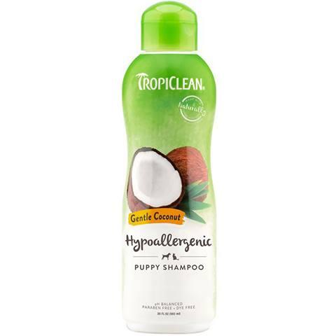 TropiClean Hypo-Allergenic Gentle Coconut Shampoo
