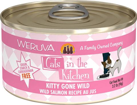Weruva Cats in the Kitchen Kitty Gone Wild