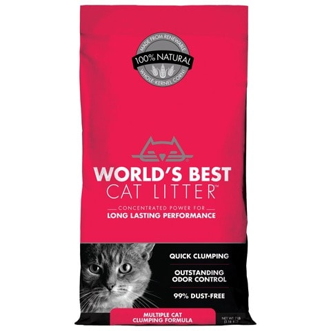 World's Best Clumping Corn Cat Litter
