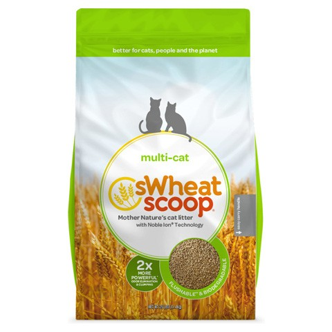 sWheat Scoop Clumping Wheat Cat Litter