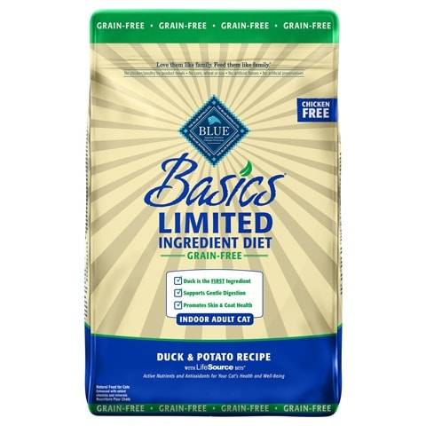 Blue Buffalo Basics Limited Ingredient Adult Dry Cat Food