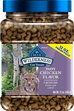Blue Buffalo Wilderness Grain-Free Cat Treats