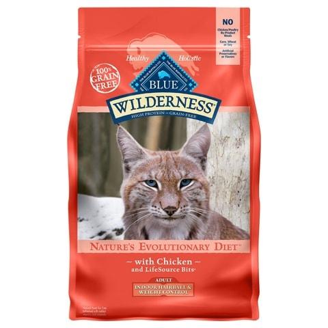 Blue Buffalo Wilderness Indoor Grain-Free Dry Cat Food