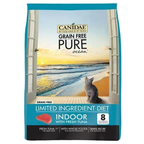 CANIDAE Grain-Free PURE Ocean Dry Cat Food