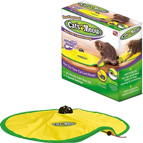 Cat's Meow Motorized Chaser Cat Toy