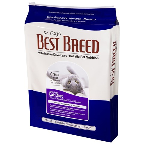 Dr. Gary's Best Breed Dry Cat Food