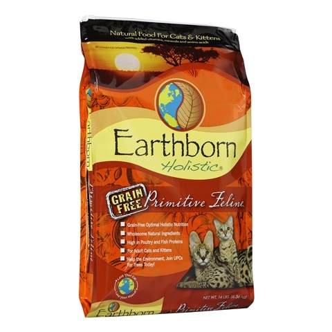 Earthborn Holistic Primitive Feline Grain-Free Cat Food