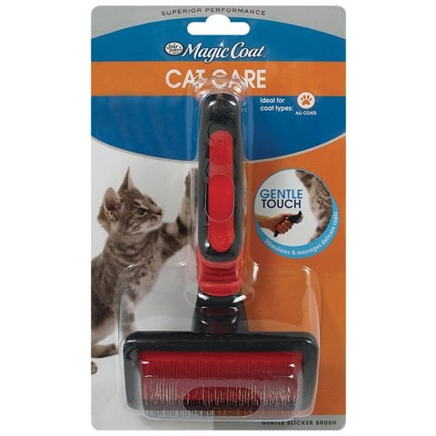 Four Paws Gentle Slicker Wire Cat Brush