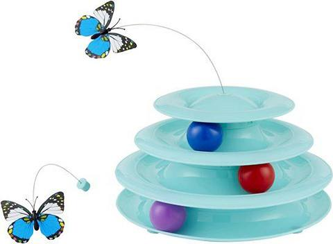 Frisco Cat Tracks Butterfly Cat Toy