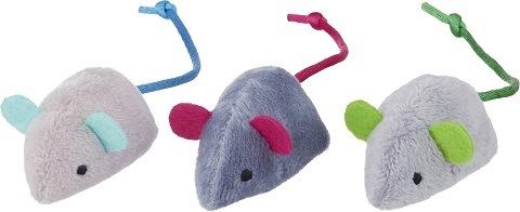 Frisco Plush Mouse Cat Toy