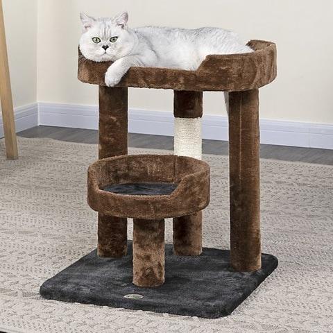 Go Pet Club Faux Fur Cat Tree