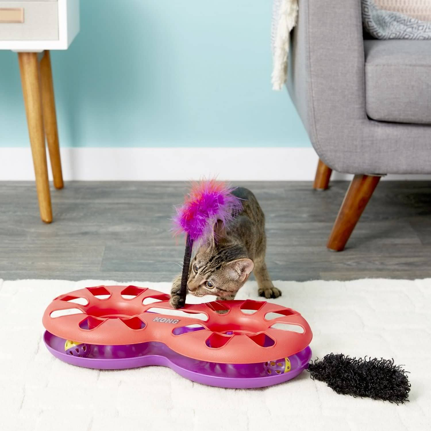 KONG Eight Track Cat Toy-BG