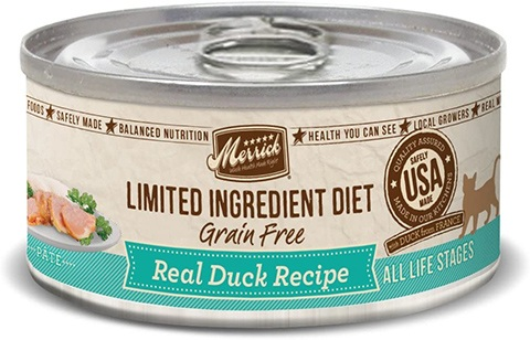Merrick Limited Ingredient Diet Grain-Free Canned Cat Food