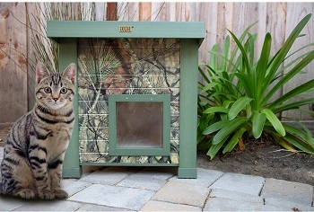 New Age Pet ecoFLEX Outdoor Cat House