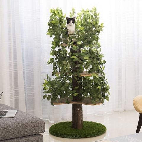 On2Pets Large Round Modern Cat Tree