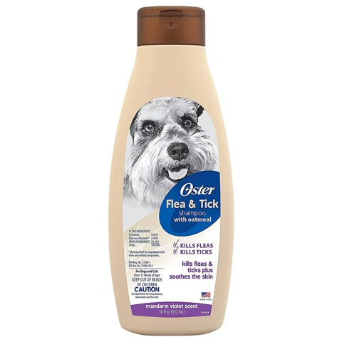 Oster Flea & Tick Dog & Cat Shampoo