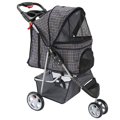 Paws & Pals Jogger Folding Cat Stroller