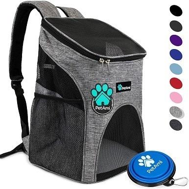 PetAmi Premium Pet Carrier Backpack