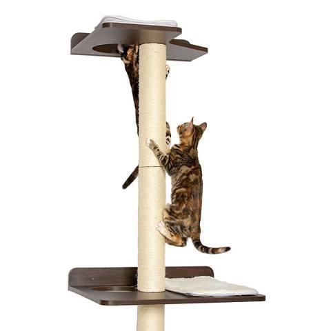 PetFusion Wall Mounted Cat Tree