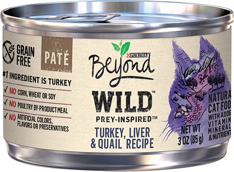 Purina Beyond Wild Prey-Inspired Canned Cat Food