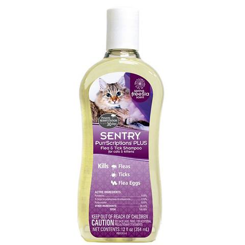 Sentry PurrScriptions Plus Flea & Tick Shampoo