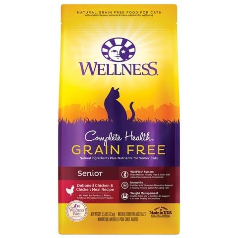 Wellness Complete Health Grain-Free Senior Dry Cat Food
