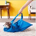 Cat-in-the-bag E-Z-Zip