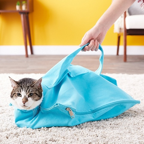 Cat-in-the-bag E-Z-Zip Cat Carrier Bag
