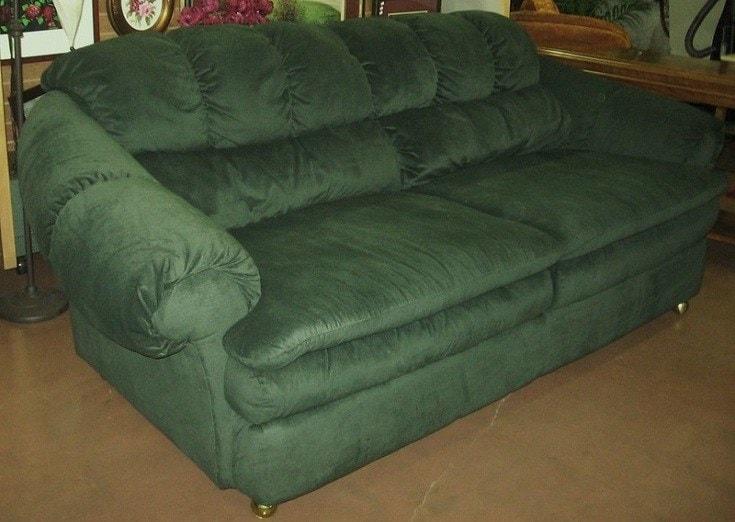 Microfiber sofa