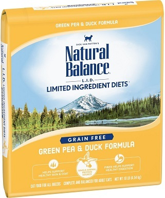10Natural Balance L.I.D. Limited Ingredient Diets Green Pea & Duck Formula Grain-Free