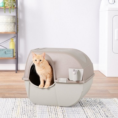 1Omega Paw Roll'N Clean Cat Litter Box