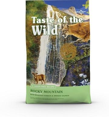 1Taste of the Wild Rocky Mountain Grain-Free Dry Cat Food