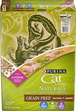 2Cat Chow Naturals Grain-Free with Real Chicken Dry Cat Food