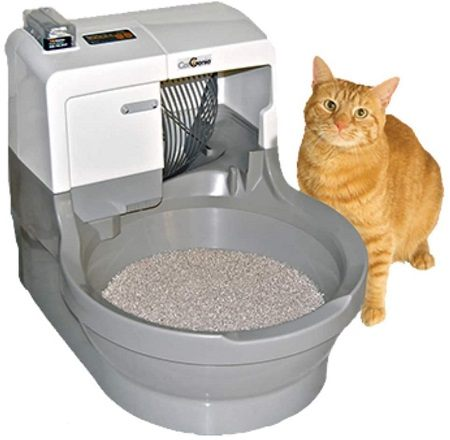 3CatGenie Self Washing Self Flushing Cat Box