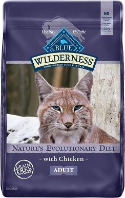 5Blue Buffalo Wilderness Chicken Recipe Grain-Free Dry Cat Food