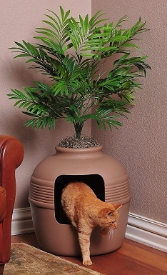 9Good Pet Stuff Hidden Cat Litter Planter