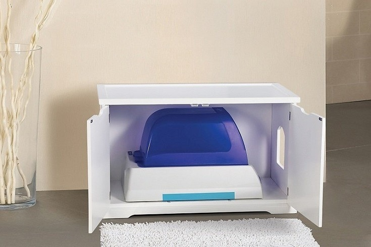 Cat Litter Box Storage